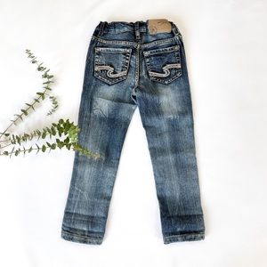 4T Brand New Silver Jeans